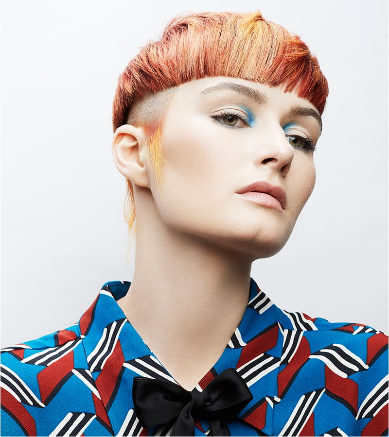Rixon Hair Wella competition hero shot 2