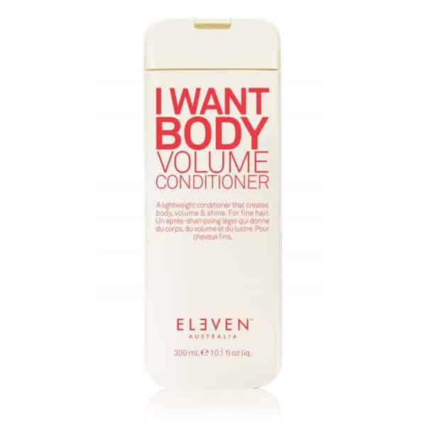 i want body volume conditioner